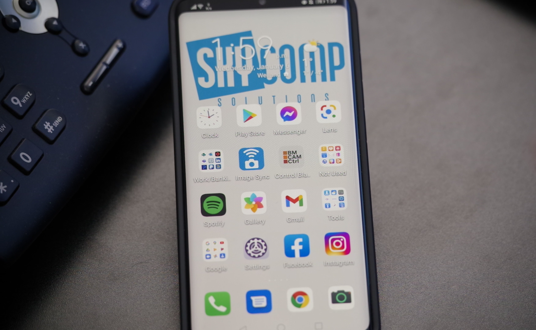 Skycomp Phone with google play store